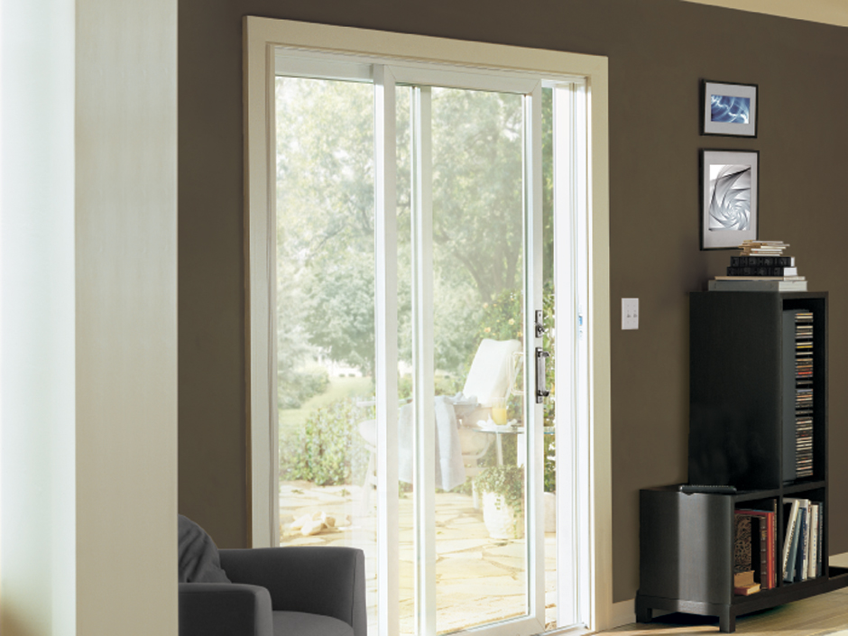 Contemporary Sliding Patio Door Feature 1