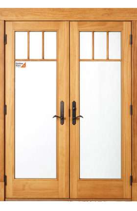 french hinged patio door colorado springs