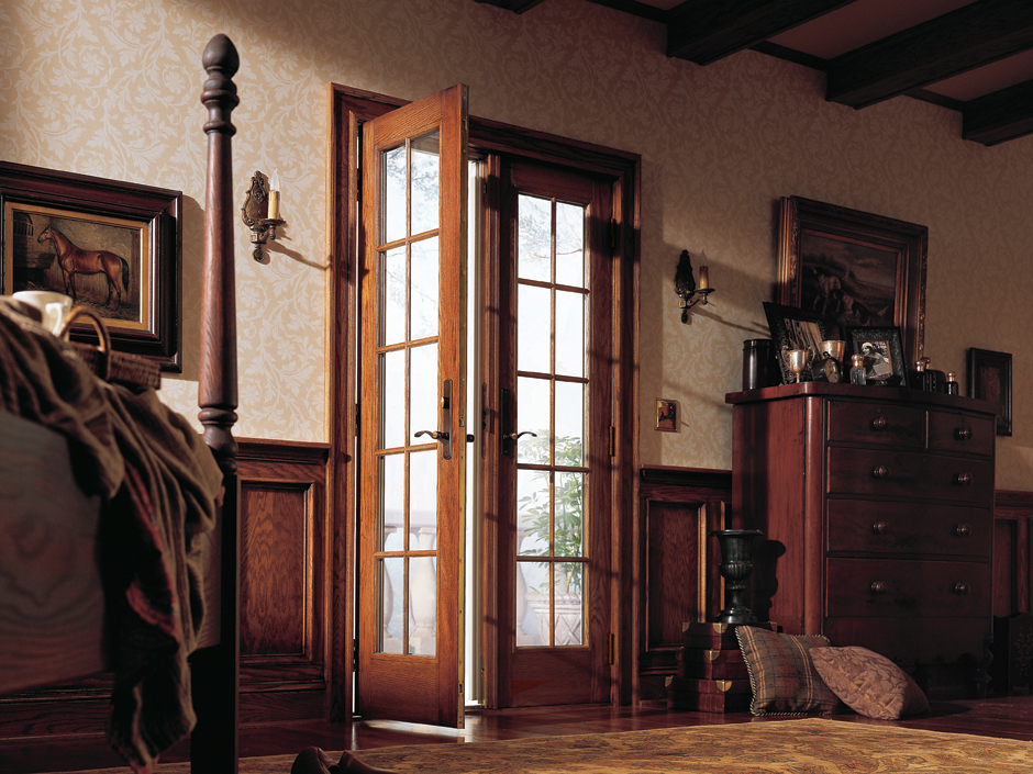 french hinged patio door feature 2
